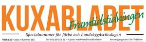 Omställning Järbo har gjort en tidning som delats ut på Landsbygdsriksdagen som ägde rum i Sandv